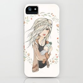 Mother's Love iPhone Case