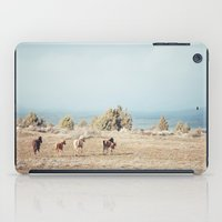 oregon iPad Cases featuring Oregon Wilderness Horses by Kevin Russ