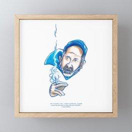 FUNNIEST -OFF COLOR- MAN ALIVE Framed Mini Art Print
