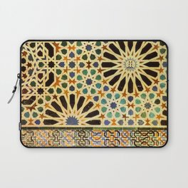 """""""Mexuar room"""". Details in The Alhambra Palace.  Laptop Sleeve"""