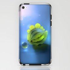 Watermelon Dino iPhone & iPod Skin