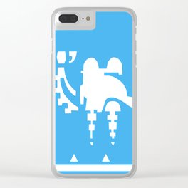 Champion of the Desert Clear iPhone Case