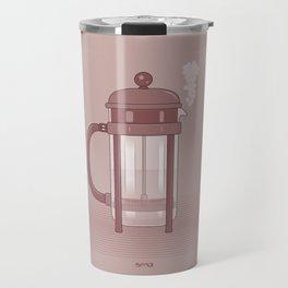 Coffee Maker Series - French Press Travel Mug