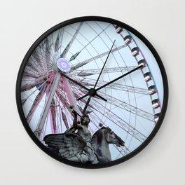 Paris Street Style No. 5 Wall Clock