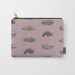 Highland Landmarks in pink Carry-All Pouch