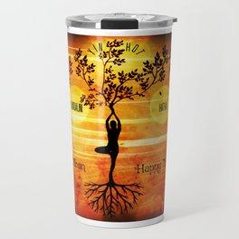 Yoga Styles Travel Mug