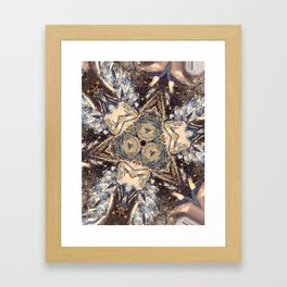 Stretched out Framed Art Print