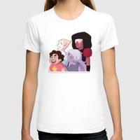 steven universe T-shirts featuring Steven Universe by Lisa Lynne Lumos