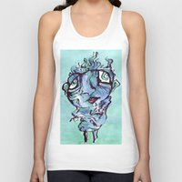 chill Tank Tops featuring Chill by 5wingerone