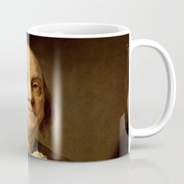 portrait of Benjamin Franklin by Joseph Duplessis Coffee Mug
