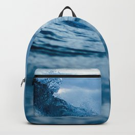 Blue Sea and Waves Backpack