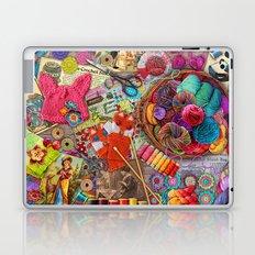 Vintage Yarn & Thread Laptop & iPad Skin