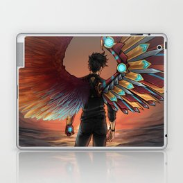MISMATCHED WINGS Laptop & iPad Skin