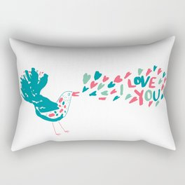 Birdy Song Rectangular Pillow