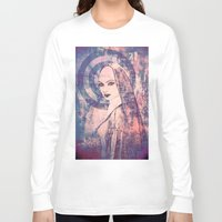 sister Long Sleeve T-shirts featuring Saucy Sister by Sirenphotos