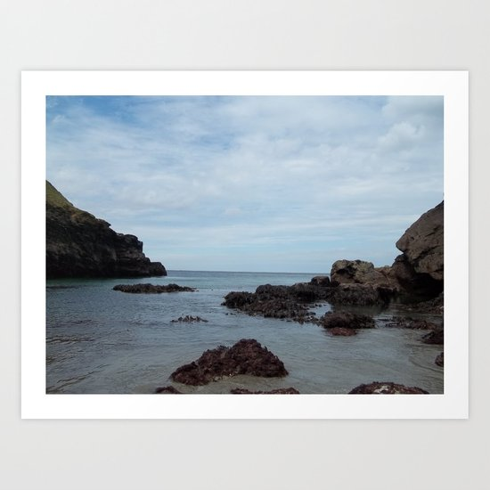 Out To Sea! Art Print