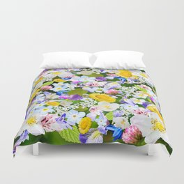Flower mess Duvet Cover