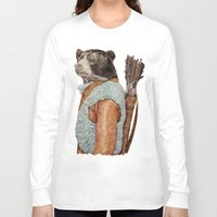 hunter Long Sleeve T-shirts featuring HUNTER by Animal Crew