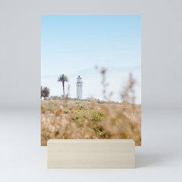 Travel photography Palos Verdes VI Lighthouse Mini Art Print
