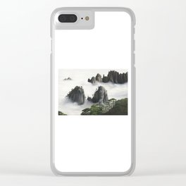 Huángshān (Yellow Mountains) Clear iPhone Case