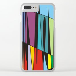 True colors no.74 Clear iPhone Case