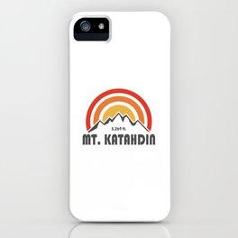 Mt. Katahdin iPhone Case