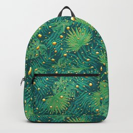 Tropical Gold Dots Backpack