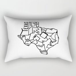 Texas Strong Rectangular Pillow