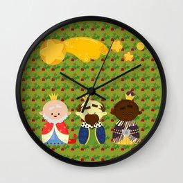 Three Kings (Reyes Magos) Wall Clock