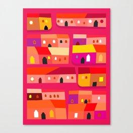 Tepito de Rojo Canvas Print