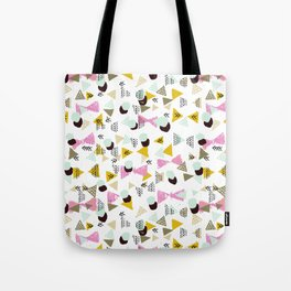 Ralea - abstract design triangle geometric circle print texture dots mid century modern graphic  Tote Bag