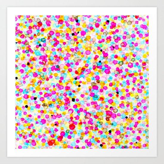 Colored Dots # 2 Art Print