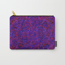 tangle, with a few faces Carry-All Pouch