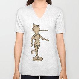 Pinocchio Unisex V-Neck