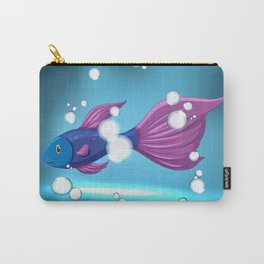 Bubble Fish Carry-All Pouch
