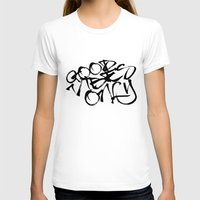 good vibes only T-shirts featuring Good Vibes Only by Glenda J.