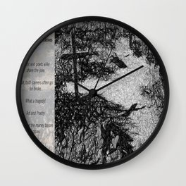 Tragedy of Creatives Wall Clock