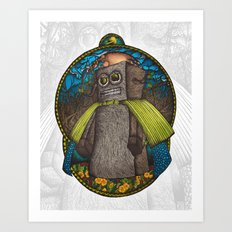 the Forest Guard Art Print