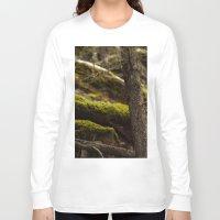 moss Long Sleeve T-shirts featuring Moss by Dana E