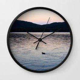 Serene Sunrise Wall Clock