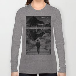 Black & White Collection -- Wandering Long Sleeve T-shirt