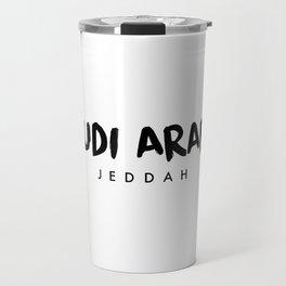 Jeddah x Saudi Arabia Travel Mug