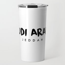 Jeddah x Saudi Arabia Travel Mug