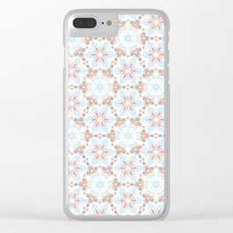 blue meadow dream Clear iPhone Case