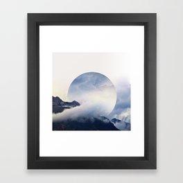 Daydreaming. Framed Art Print