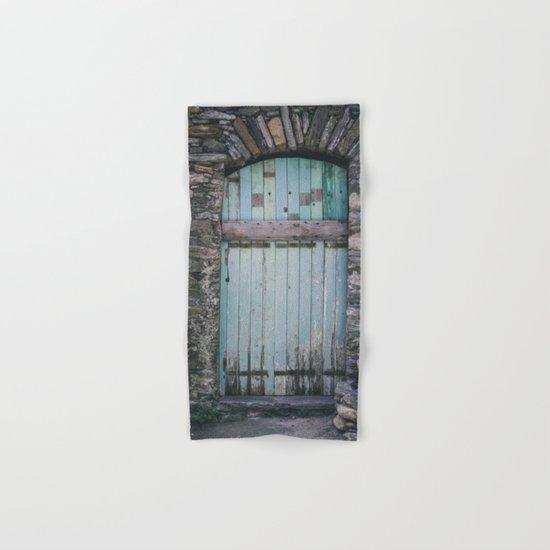 Old Blue Door II Hand & Bath Towel