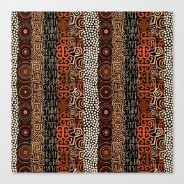 Geometric African Pattern Canvas Print