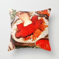 Monthly Sauce Throw Pillow
