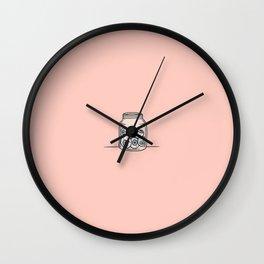 Inktober Day 6 - Six Eyeballs Wall Clock