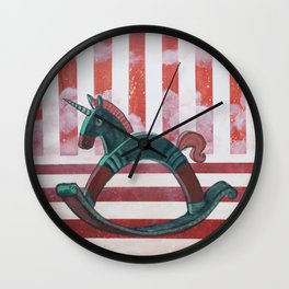 Rocking Horses series - Independence Wall Clock